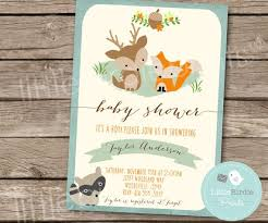 woodland baby shower invitations woodland ba shower invitations woodland ba shower invitations