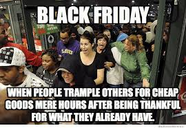 true meaning of black friday the commercialization of christmas