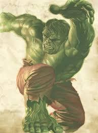 incredible hulk vintage edition lithograph