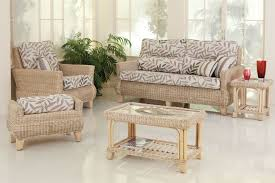 indoor wicker furniture living room furniture tufted sofa gray