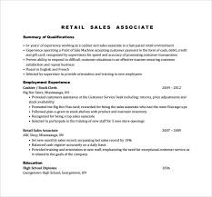 resume sles for high students pdf sales associate resume sle resume of retail sales associate