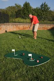synthetic putting green and turf over concrete picture on awesome