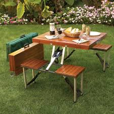 picnic tables folding with seats folding picnic table with bench seating barbecue folding tables