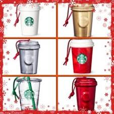 Starbucks Christmas Decorations 2013 Starbucks Swarovski Crystals Christmas Ornament Holiday Cup