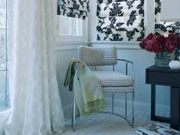 Blue And White Window Curtains Summer Window Treatment Ideas Hgtv U0027s Decorating U0026 Design Blog Hgtv