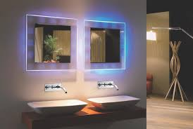 backlit bathroom vanity mirror backlit bathroom mirror cool home ideas collection prepare backlit