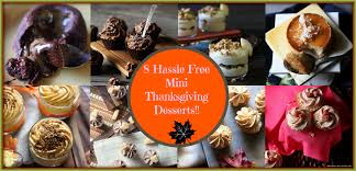 hassle free mini thanksgiving desserts mind batter