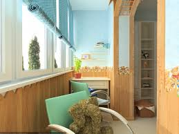 lidiya grushetska portfolio cartoon kids room with two floor bed