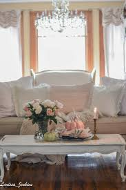 Shabby Chic Fall Decorating Ideas Inspiring Pink Fall Decorations French Country Home Tour