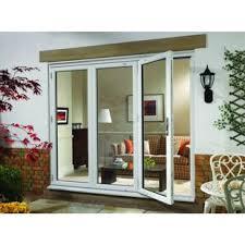 Wickes Bi Fold Doors Exterior Wickes Millbrook Upvc External Bi Fold Door Set White Left Opening