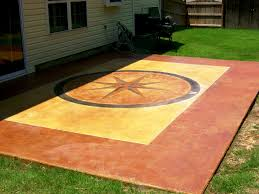 Cement Patio Cost Per Square Foot by Tips To Staining Concrete Patio Cement Patio