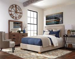 Acacia Bedroom Furniture by Madeleine 300570 Bedroom In Beige U0026 Acacia By Donny Osmond