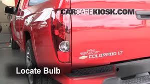 2004 Silverado Tail Lights Tail Light Change 2004 2012 Chevrolet Colorado 2007 Chevrolet