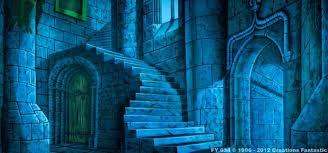 castle backdrop fy034 moonlight castle interior