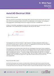 autocad electrical 2016 cable size u0026 colour information