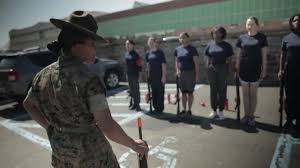black friday marine boot camp female enlistees get a taste of boot camp military com