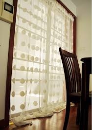 Ikea Window Panels by Online Shop Ikea Transparent White Polka Dots Curtains For Living