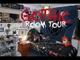 goth room gothic bedroom tour 3 youtube