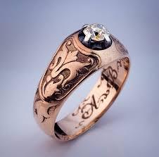 antique and vintage diamond rings antique men u0027s diamond ring