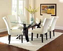 Black And Cream Dining Room - black glass dining room table and chairs u2013 mikka info