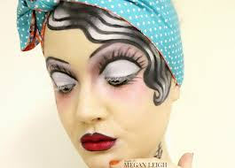 pin up halloween makeup classic tattoo pin up halloween makeup maybe its megan leigh