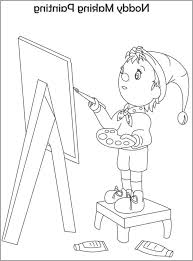 noddy coloring pages coloring pages kids