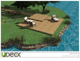 400 Sqft by Design Center Diy Decking Solution Udecx U2013 Udecx