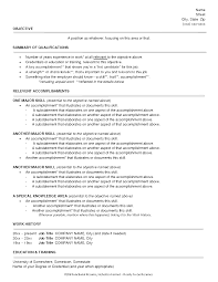 Resume Types Examples by 3 Different Styles Of Resumes Virtren Com