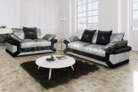 velvet sofa set louisiana crushed velvet 3 2 sofa set 2 u0026 3 seater sofa sets