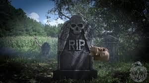 reaching arm tombstone spirit halloween youtube