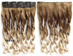 Long Synthetic Hair Extensions by One Piece Synthetic Clip In Hair Extensions With 5 Clips