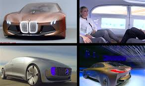 future bmw concept bmw vision vs mercedes f015 self driving cars of the future video
