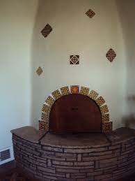 unique adobe home fireplaces