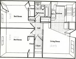 house plans with apartment 45 square house plans 45 sq ft apartment floor plan for