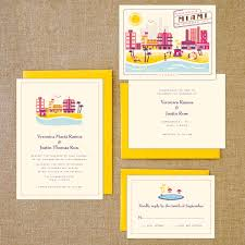 wedding invitations miami destination wedding invites boston miami and the riviera