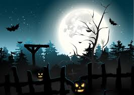 halloween full moon photography background pictures bats halloween moon fence night time holidays 4961x3532