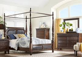 cindy crawford bedroom set shop for a cindy crawford home trinidad 6 pc king canopy bedroom in