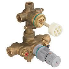 Shower Faucet Diverter 2 Handle Theromostat Valve 3 Way Diverter American Standard