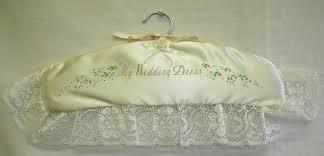 Wedding Dress Hanger Wedding Dress Hangers Personalised Wedding Gifts Jean Robson