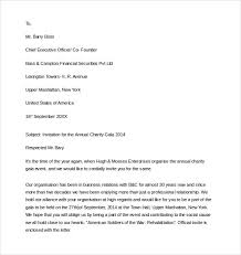 business invitation letter format visa invitation letter