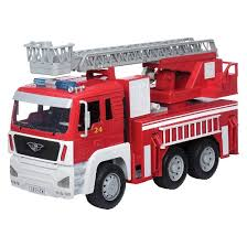 driven fire truck target