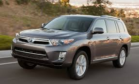 nissan pathfinder vs toyota highlander 2011 toyota highlander hybrid road test u2013 review u2013 car and driver