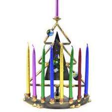 sports menorah chanukah gifts painted multi sports menorah children s