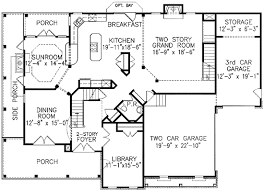 house plans floor master plan w15772ge stacked porches e architectural design