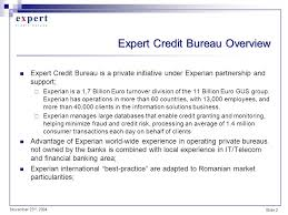 experian credit bureau 1 challenges for a credit bureau in emerging markets ppt