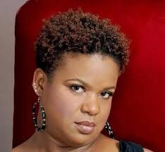 natural hairstyles for 58 years old older black women with natural hair tina coils with very little