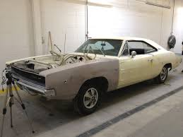 make a wish dealership restoring 1968 dodge charger for minnesota