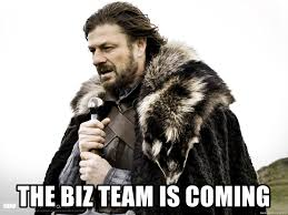 Winter Meme Generator - the biz team is coming brace yourselves winter is coming meme