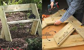 Free Wooden Park Bench Plans by Diy Garden Benches Plans Diy Free Download Quick And Easy Wood