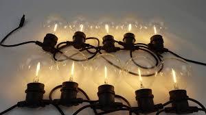 lichterkette fã r balkon warmweiße stromsparende led partylichterkette mit riesigen klaren